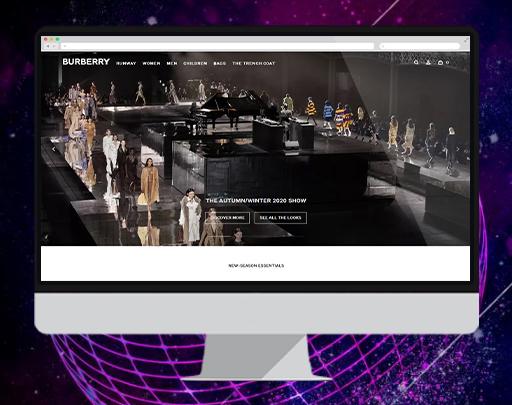 巴寶莉香港官方商城 外貿網站,商城開發